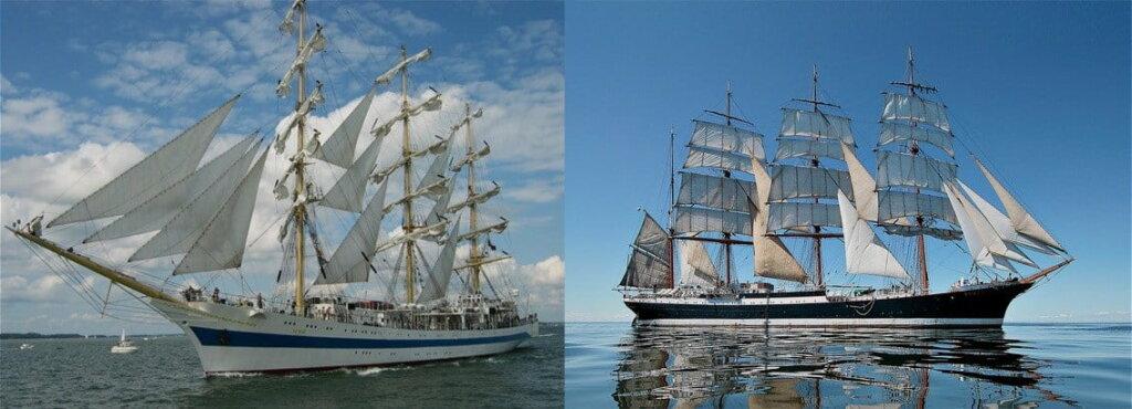 Капитан парусников «Мир» и «Седов»