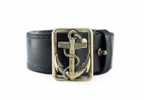 Морской офицерский ремень с пряжкой