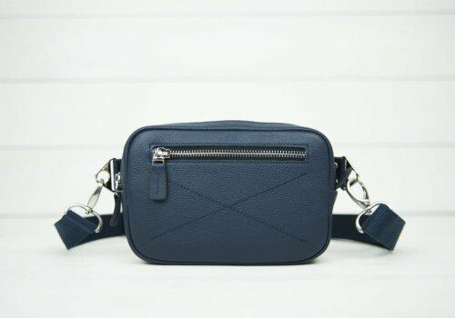 синяя сумка на пояс Bumbag Blue