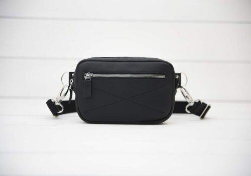 черная сумка на пояс Bumbag Black