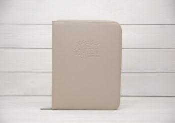 папка для документов dela semejnye бежевая кожа