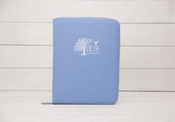 dela semejnye голубой органайзер для семейных документов экокожа