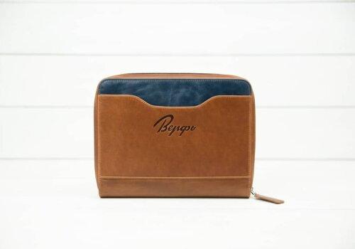 коричневая кожаная папка для путешествий Travel Pack Brown