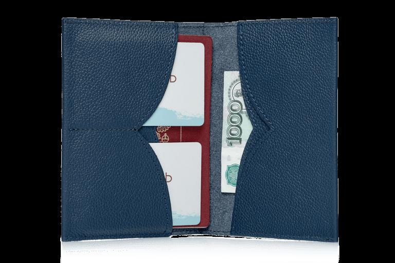 Аксессуары Обложка на паспорт Чайка Blue
