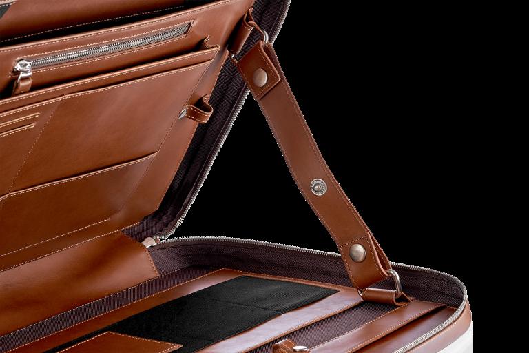 Сумки Деловые Для ноутбука Мужские Continent Brown
