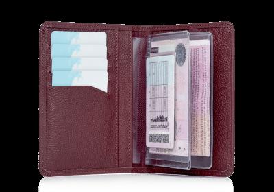 Бумажник водителя Driver Bordo