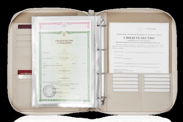 Папка для документов — Дела Семейные Beige