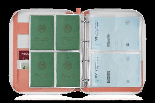 Папка для документов – Дела Семейные Eco Peach