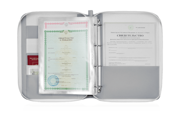 Папка для документов — Дела Семейные Eco Grey