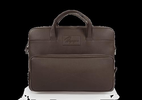 Сумки Деловые Для ноутбука Мужские Деловая сумка Rock Brown