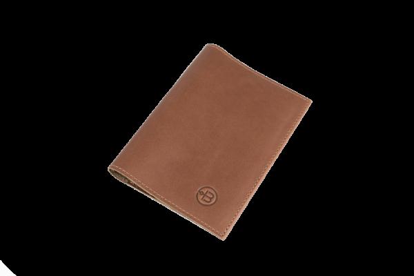 Обложка на паспорт Docker Brown