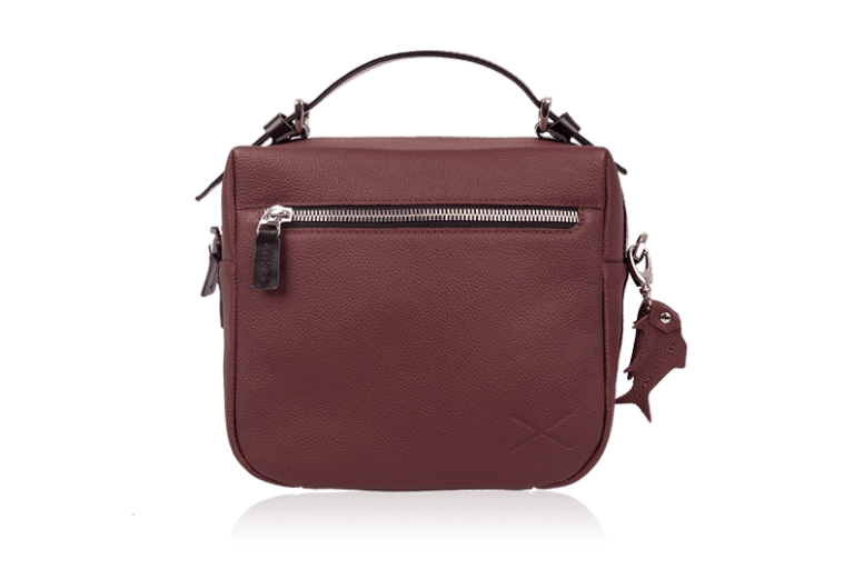 Женская сумка Shell Bordo