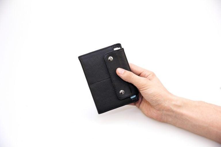 Аксессуары для путешествий Аксессуары Дорожные кошельки Аксессуары Бумажник водителя Обложка на паспорт Smart Black