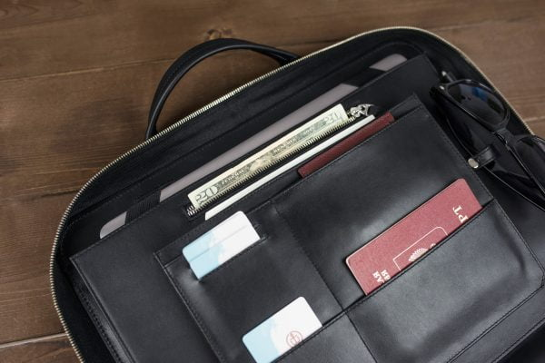 Деловая сумка Continent Black