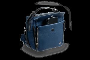 Женская сумка Shell Blue