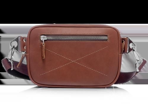 Сумки Подарки на 23 февраля Женские Поясные Мужские Поясная сумка Bumbag Brown