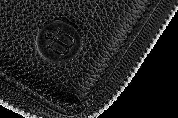 Кошелек Zipper Black