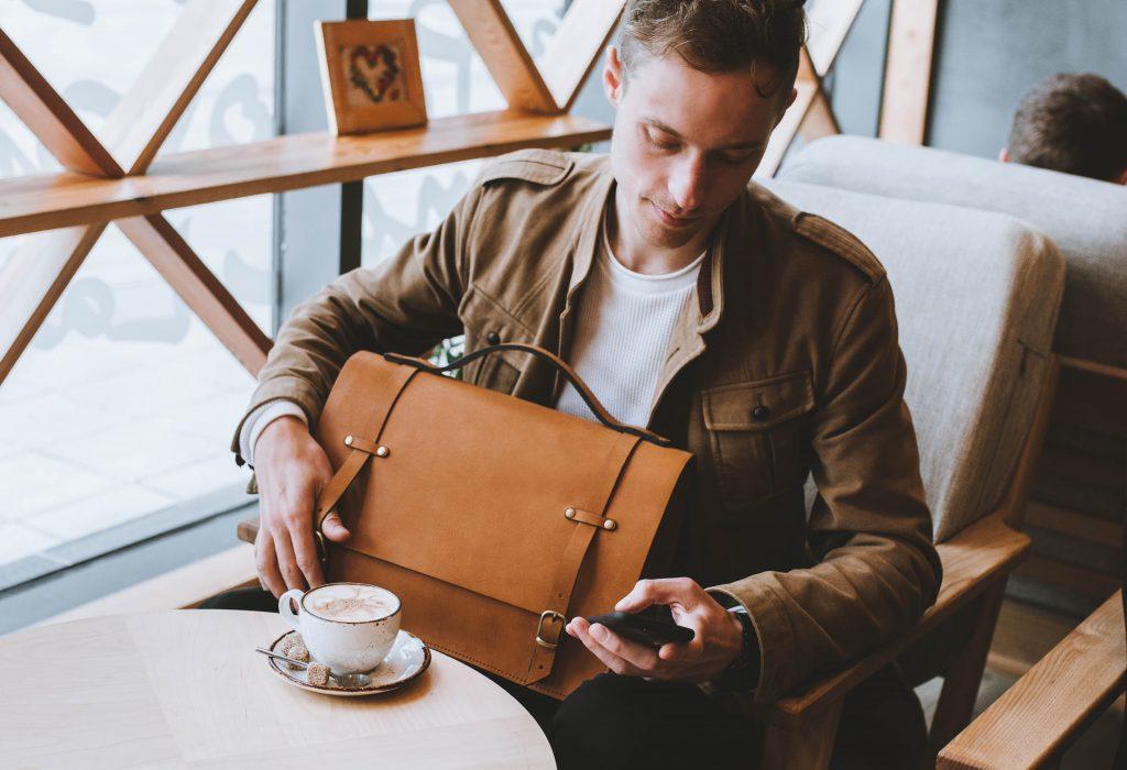 деловая сумка для ноутбука
