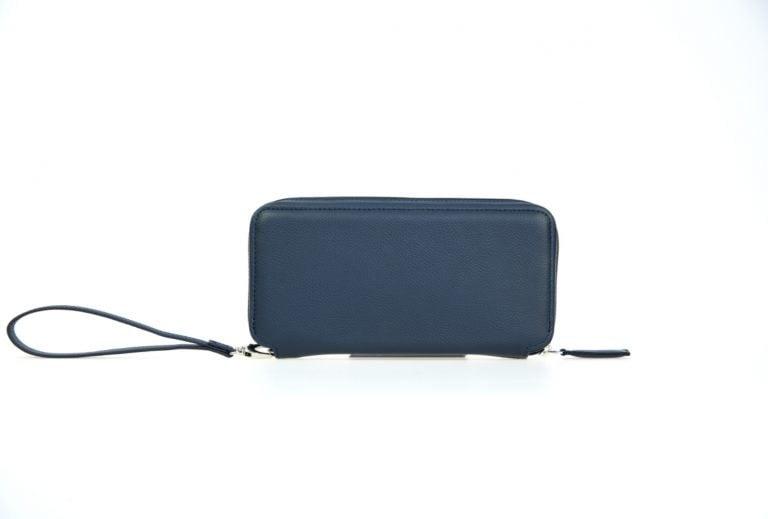 синее портмоне кошелек Tandem Blue