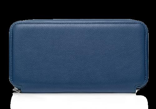 Кошельки Аксессуары для путешествий Кожаное мужское портмоне Портмоне Дорожные кошельки Кошельки Tandem Blue