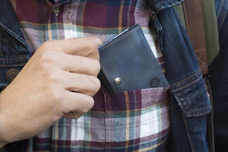 Кошельки Тэ-компактный кошелек синий