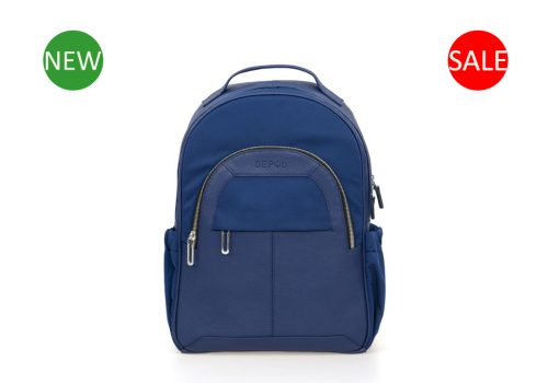 синий женский рюкзак для ноутбука Shark Blue