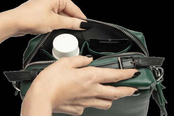 Женская сумка Shell Green
