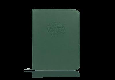 зеленая папка для хранения семейных документов