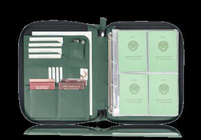 Папка для документов — Дела Семейные Green