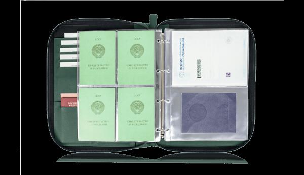 Папка для документов – Дела Семейные Green