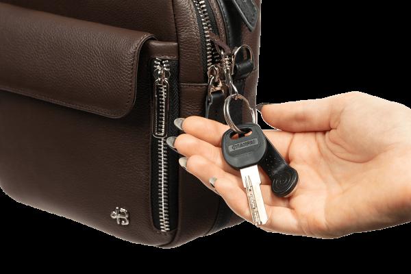 Женская сумка Shell Brown