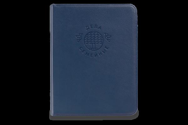 Папка для документов — Дела Семейные MAXI Blue