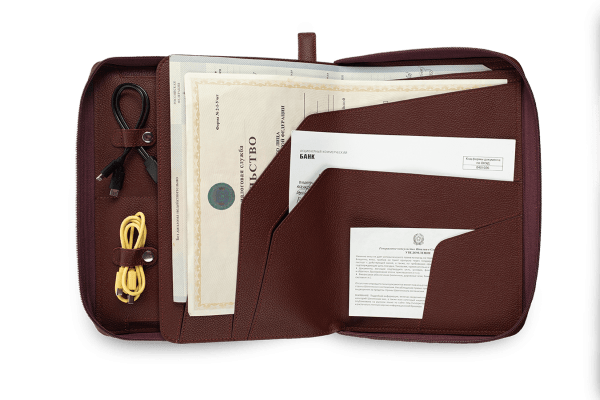 Папка для путешествий Travel Pack Bordo