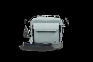 Женская сумка Shell Grey-Blue