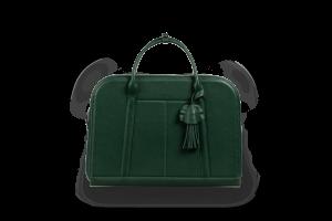 Женская деловая сумка Riviera green