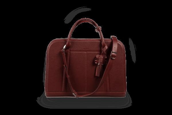 Женская деловая сумка Riviera bordo
