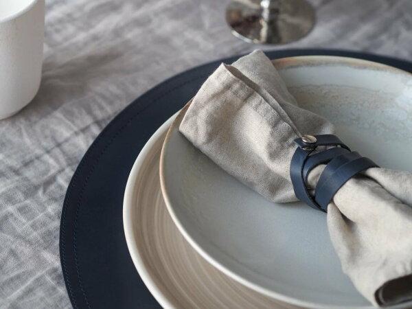 Шнурок для салфеток SPIRAL blue (комплект 4 шт)