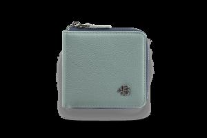 Кошелек Zipper Grey-Blue