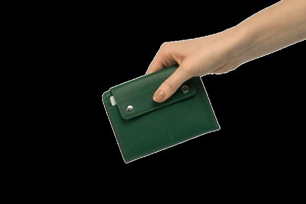 Дорожный кошелек Smart Green