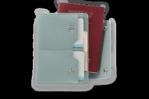 Дорожный кошелек Smart Grey-Blue