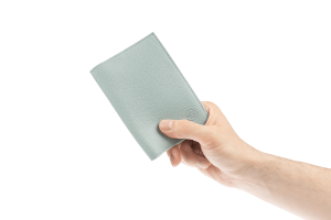 Обложка на паспорт Docker Grey-Blue