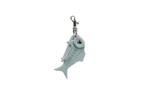 Брелок Рыбка Grey-Blue